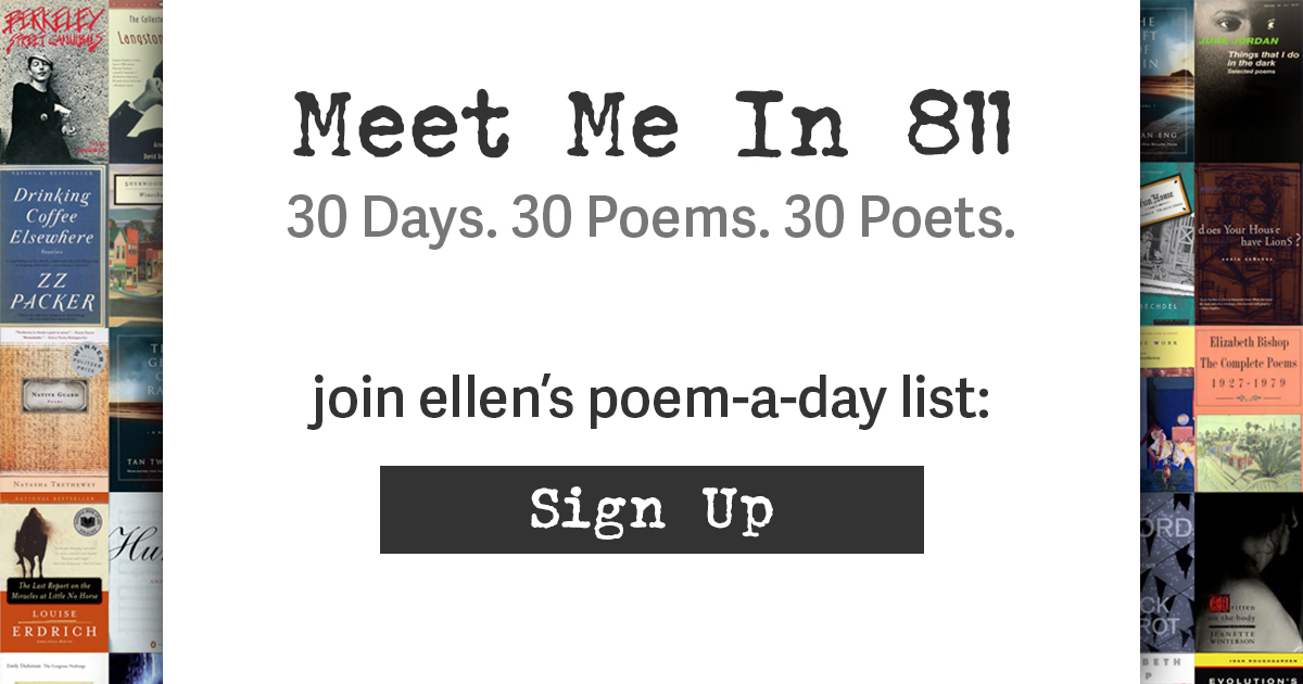 Poem-a-Day April 5: Robin knows it best – Meet Me In 811